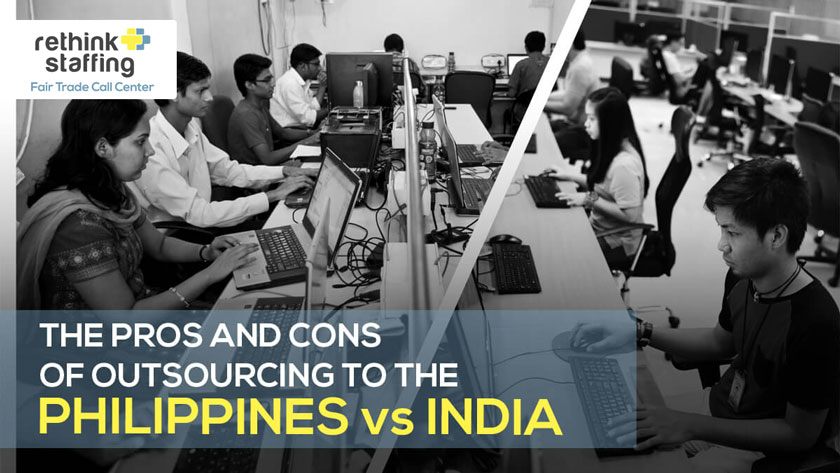why outsource to the philippines instead of india