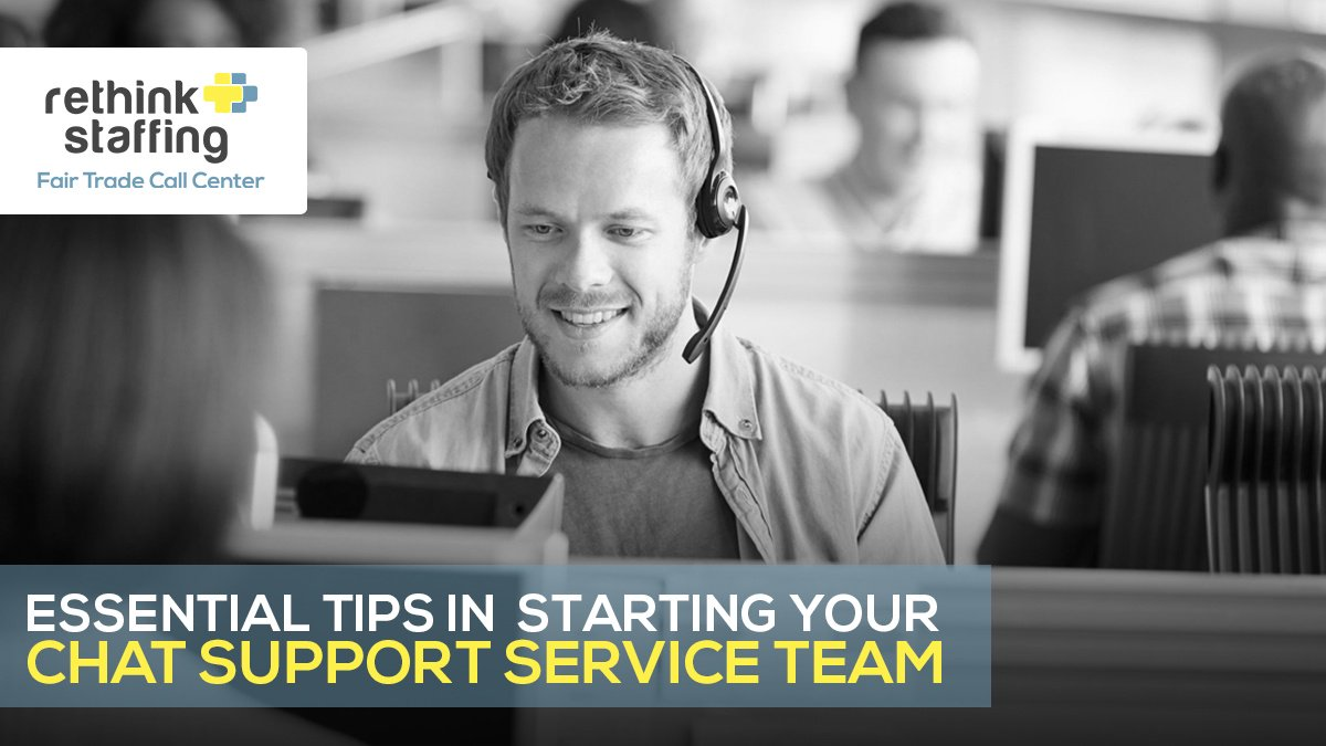 Essential Tips in Starting your Chat Support Service Team