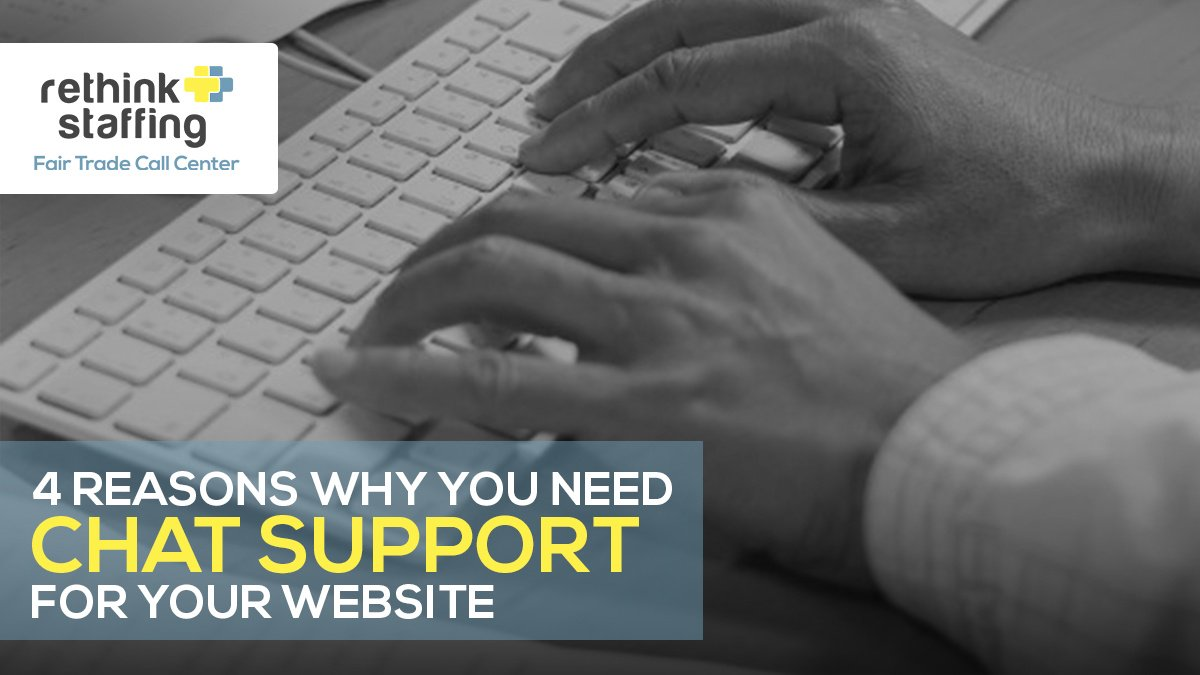 4 Reasons Why You Need Chat Support for Your Website