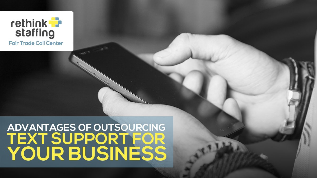 Advantages of Outsourcing Text Support for Your Business