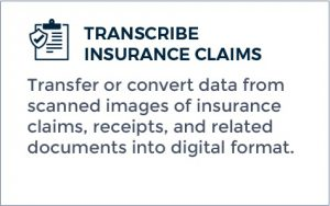 Outsourcing Transcription - Transcribe Insurance Claims