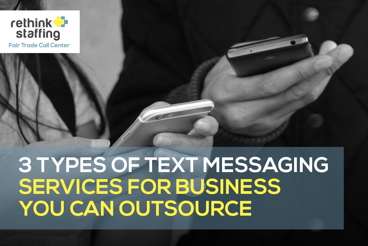 Types of Text Messaging Services for Business You Can Outsource