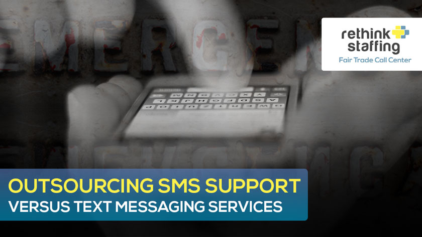Outsourcing SMS Support vs Text Messaging Services