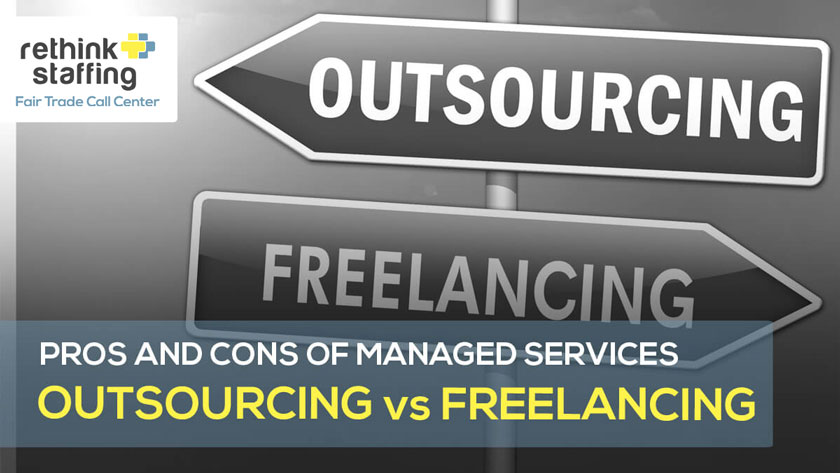 Pros and Cons of Managed Services Outsourcing and Freelancing