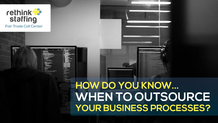 How Do You Know When to Outsource Your Business Processes?