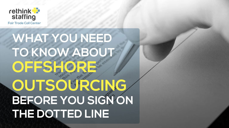 What You Need Know About Offshore Business Process Outsourcing Before Signing the Dotted Line