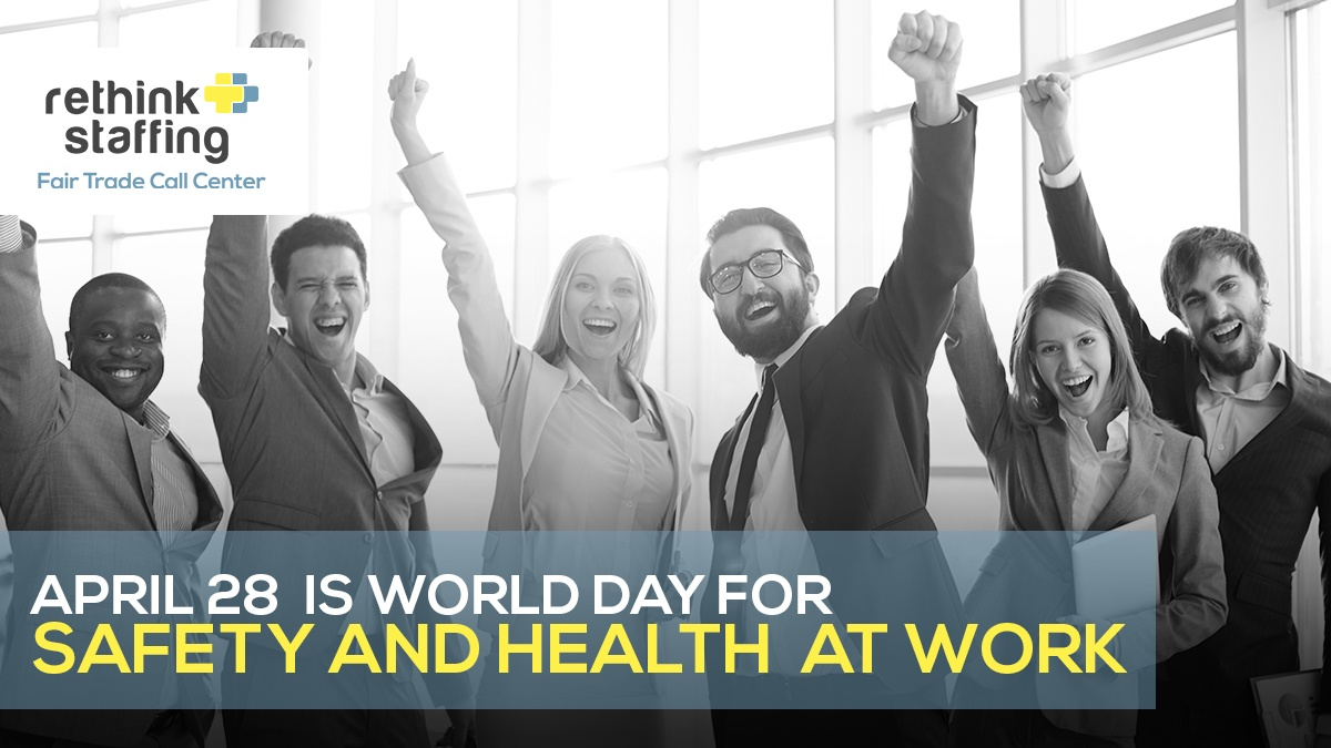 April 28 is 'World Day for Safety and Health at Work'