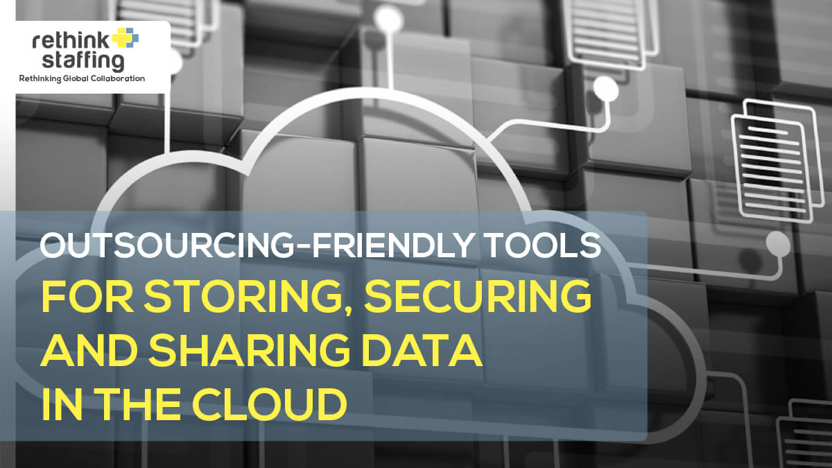 Outsourcing-Friendly Tools for Storing, Securing and Sharing Data in the Cloud