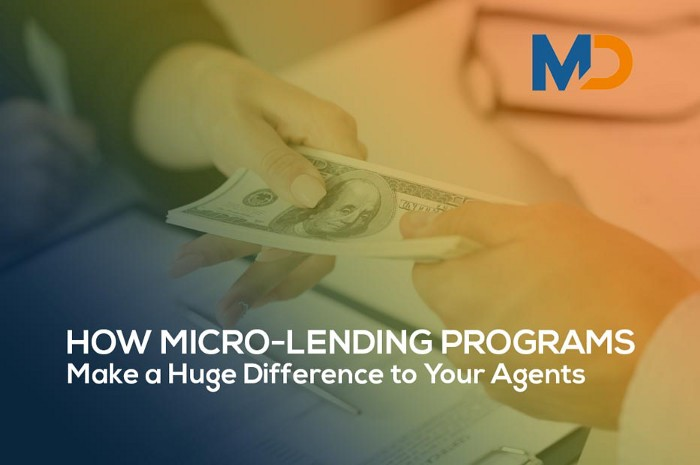 How Micro-Lending Programs Make a Huge Difference to Your Agents