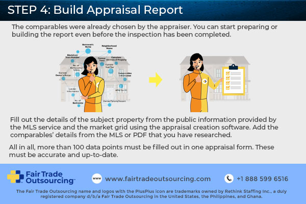 STEP 4 of Appraisal Report Writing Workflow